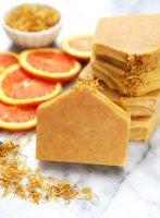 Мыло с нуля холодным способом на апельсиновом соке