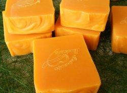 Абрикосовое мыло скраб с нуля холодным способом