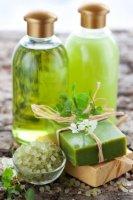 Мыло для душа и бани на основе калийной пасты - лемонграсс