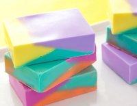 Разноцветное мыло из основы