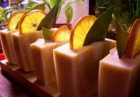 Апельсинове мило з нуля холодним способом