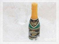 Мыло из основы – бутылка шампанского