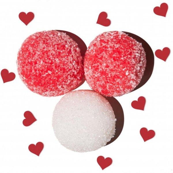 Скраб для ванної до дня святого Валентина