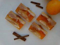 Мило з основи під нарізку Кориця / Апельсин