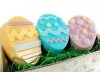 Пасхальное мыло Яйцо с узором