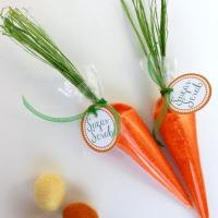 Сахарный скраб – Пасхальная морковка
