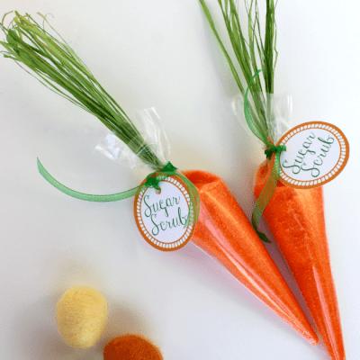 Цукровий скраб - Великодня морквина