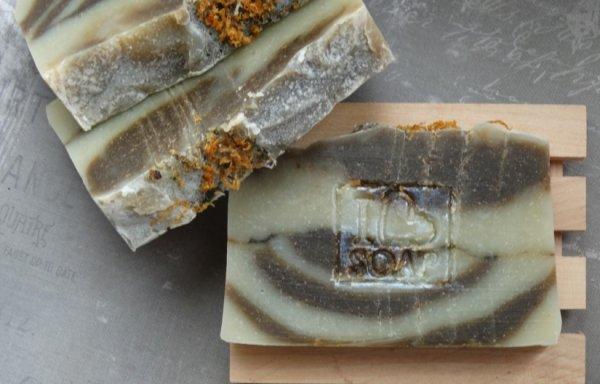 Мыло натуральное со спирулиной