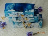 Цветочное мыло Василек
