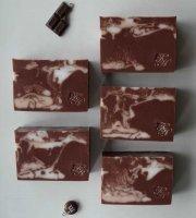 Шоколадное мыло из основы
