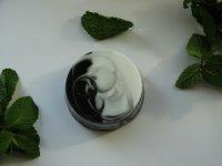 Мраморное мятное мыло ручной работы