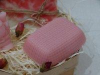 Вязанное сувенирное мыло с основы