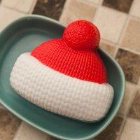 Мыло вязаная шапка из основы