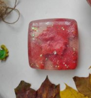 Сувенирное мыло с глиттером «Листопад»