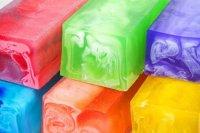 Мыло из основы для сухой кожи