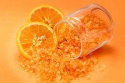 Апельсиновая соль для ванны - антицеллюлитный эффект