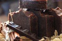 Шоколадне мило з нуля холодним способом