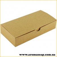 Коробка натуральна-Крафт