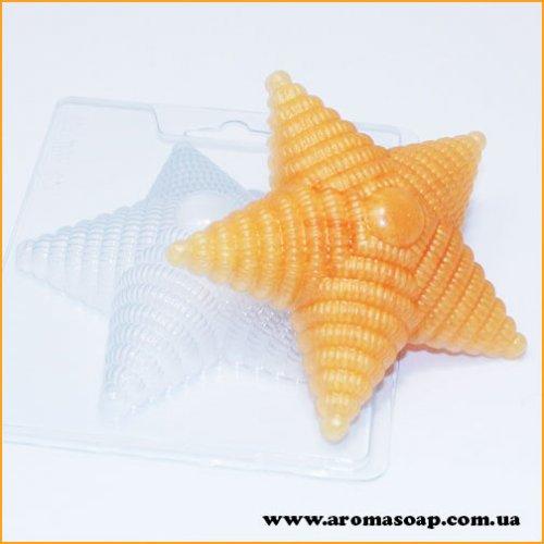 Звезда с погон 80 г (пластик)