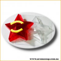Звезда Защитнику Отечества 60 г (пластик)