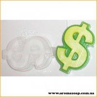 Знак доллар 80г (пластик)