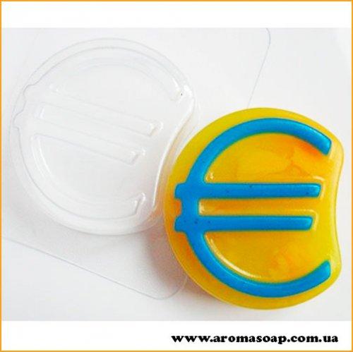 Знак евро 100г (пластик)
