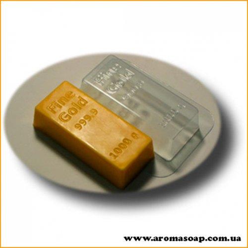 Золотой слиток 106 г (пластик)