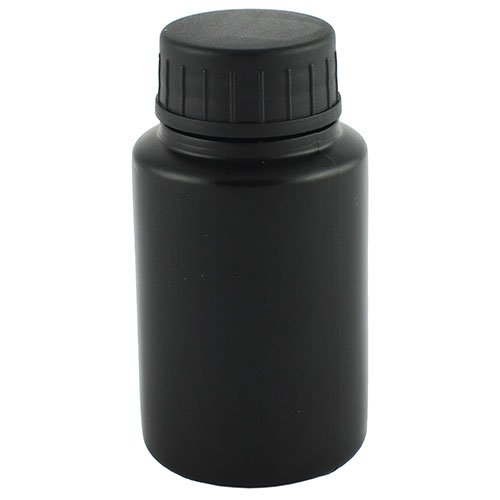 Флакон-бочонок косметичний Ascorp 30мл чорний набір 10шт (3044)