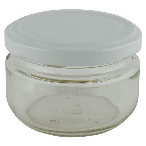 Баночка косметическая Ascorp Джем 110 мл стеклянная набор 10 шт (4882)