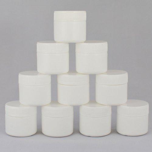 Баночка косметическая Ascorp 30 мл белая набор 10 шт (2273)
