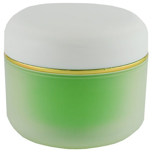 Баночка-термос косметична Ascorp 100мл Айс салатова набір 5шт (4787)
