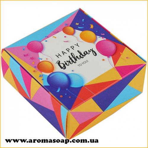 Коробка малая Happy Birthday