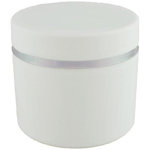 Баночка-термос косметическая Ascorp 30 мл Бостон белая набор 5 шт (3586)