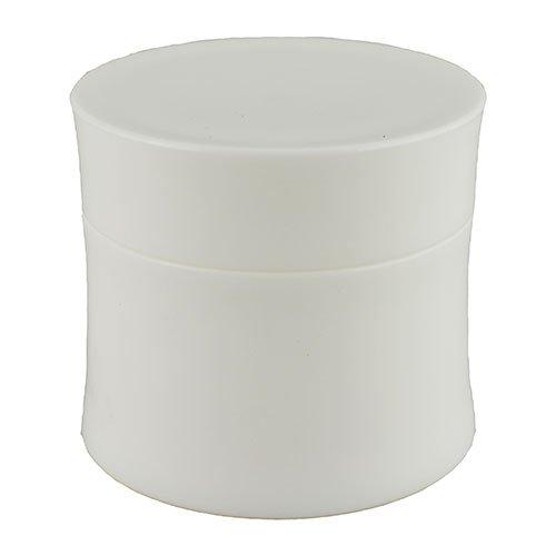 Баночка косметическая Ascorp 50 мл Николь белая набор 5 шт (2029)