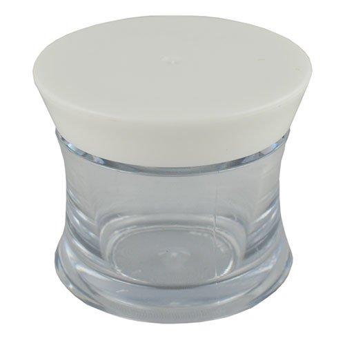 Баночка косметическая Ascorp фигурная 30 мл прозрачная набор 5 шт (1422)