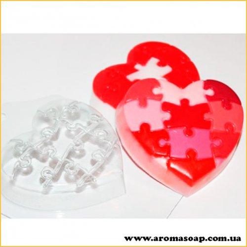 Любовний пазл 115г (пластик)