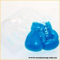 Боксерские перчатки 100 г (пластик)