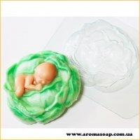 Малыш в капусте 105г (пластик)