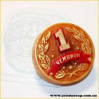 Медаль Чемпиона 105 г (пластик)
