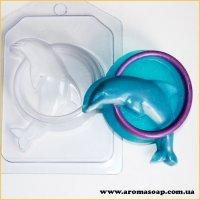 Дельфин в обруче 90 г (пластик)