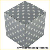 Коробка для 3D мыла Звезды в серебре