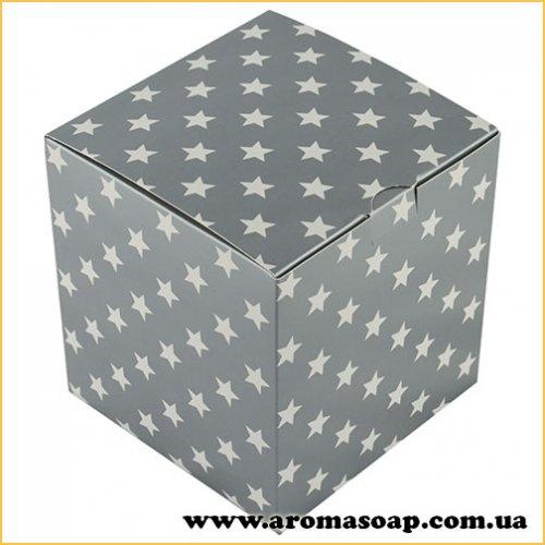 Коробка для 3D мила Зірки в сріблі