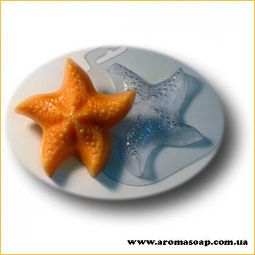 Морская звезда большая 66 г (пластик)