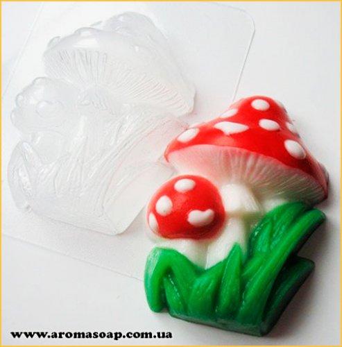 Мухомори 100г (пластик)