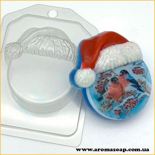 Круг в новогодней шапке 108г (пластик)