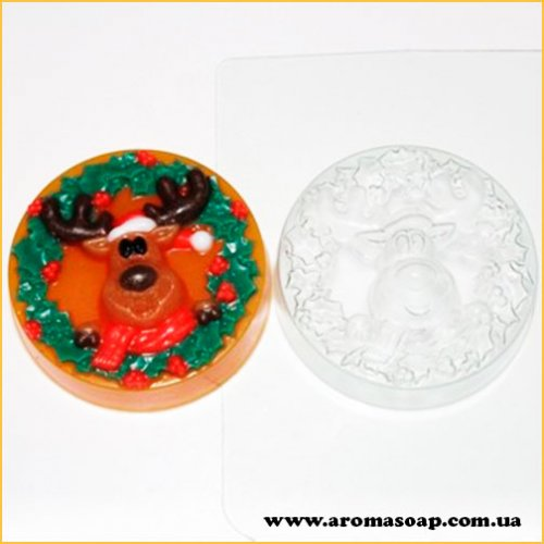 Олень Рождественский 86 г (пластик)