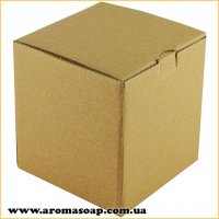 Коробка для 3D мыла Натуральная