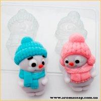 Парочка снеговичков 100 г (пластик)