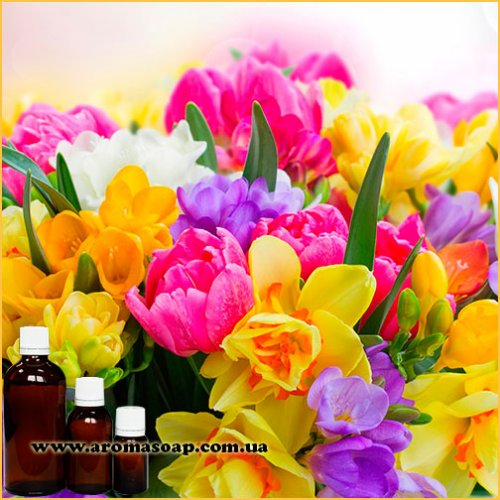 Весенние цветы отдушка