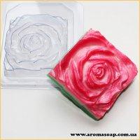 Роза квадратная 120г (пластик)